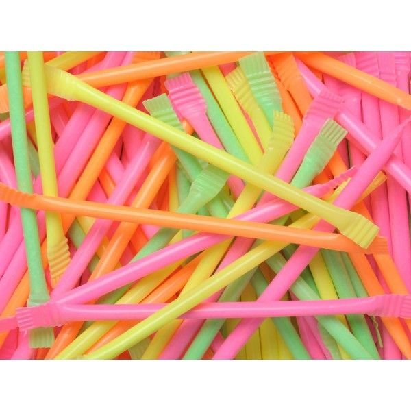 Candy Powder Filled Straws