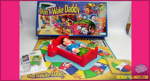 funny don't wake daddy board game toy photo