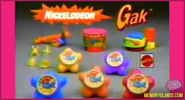 funny nickelodeon gak toy photo