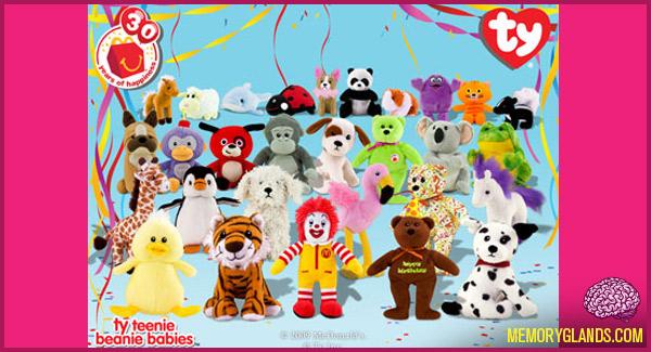 funny mcdonalds teenie beanie babies toys photo