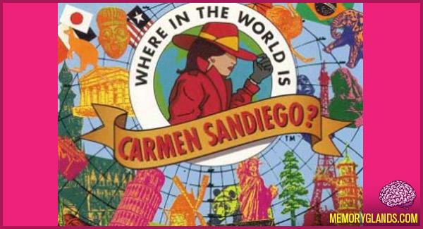 funny TV show carmen sandiego photo
