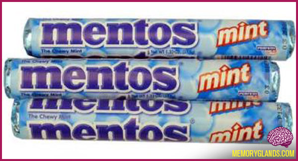 classic mint candy mentos photo