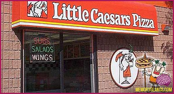 funny little caesars pizza pizza photo