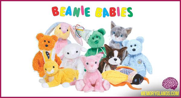beanie babies toy fad photo