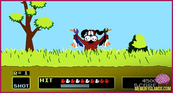 Nitendo's Duck Hunt video game photo