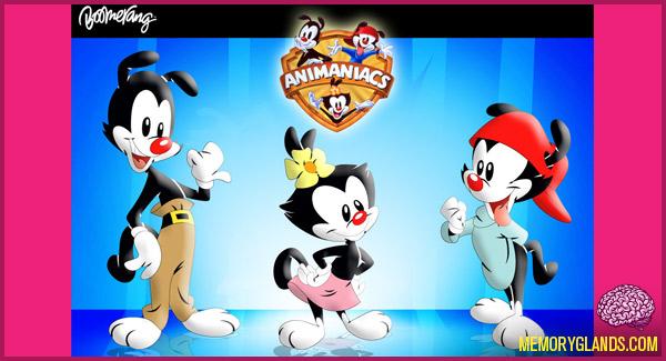 funny cartoon animaniacs tv show photo