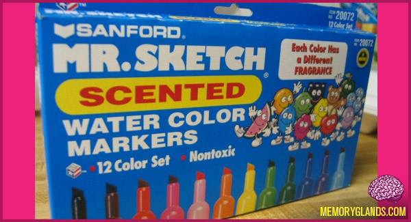 funny mr. sketch scented markers photo