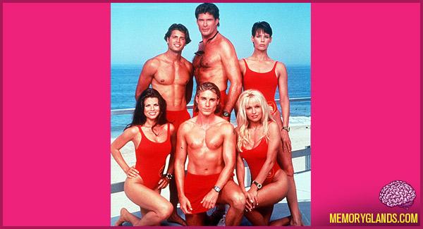 funny baywatch tv show photo