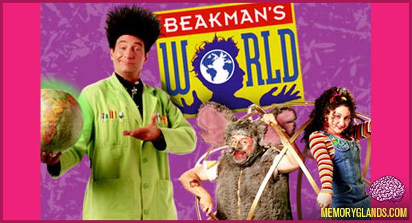 funny beakman's world tv show photo