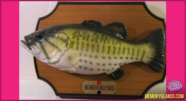 funny big mouth billy bass toy photo