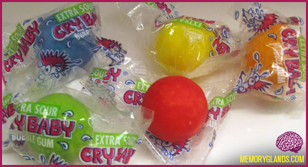 funny cry baby bubble gum photo