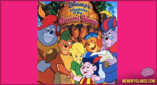 funny disney tv show adventures of the gummi bears photo