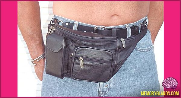 funny fanny packs fashion photo