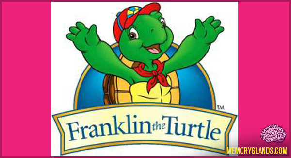 funny cartoon franklin the turtle tv show photo