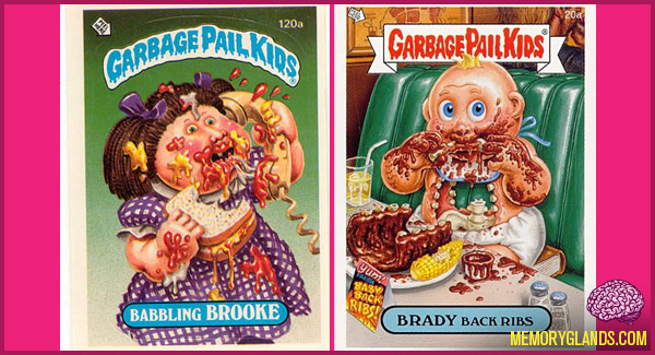 funny garbage pail kids card photo