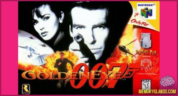funny goldeneye 007 nintendo 64 video game photo