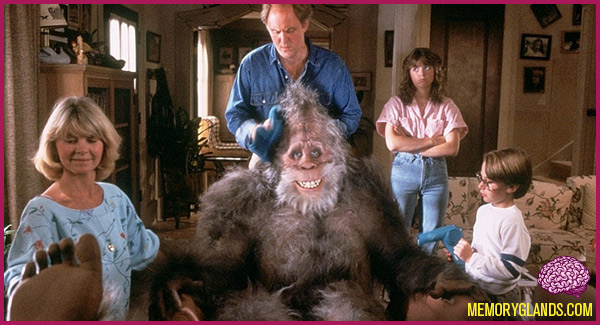 funny harry and the hendersons movie photo