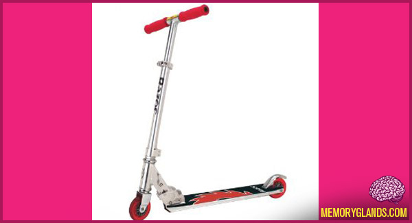 funny razor scooter photo