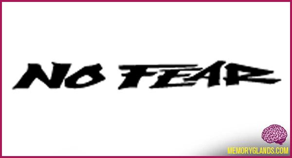 funny no fear brand photo