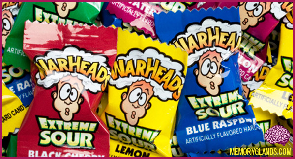 funny warheads candy photo