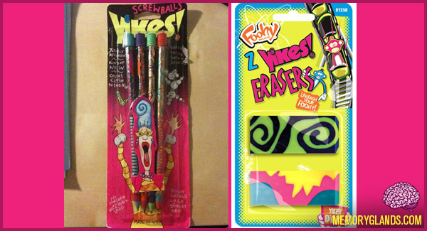 funny school supplies yikes! pencils erasers photo