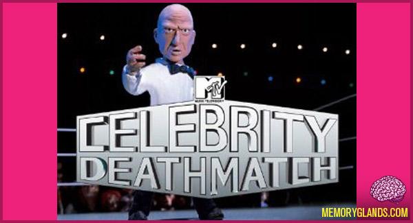 funny mtv tv show celebrity deathmatch photo