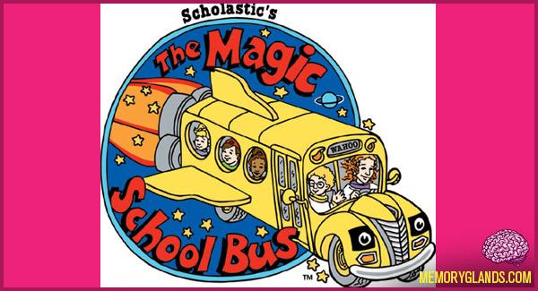 funny cartoon tv show the magic school bus photo