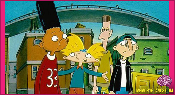funny nickelodeon tv show hey arnold photo