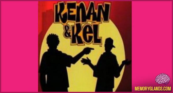 funny nickelodeon tv show kenan & kel photo