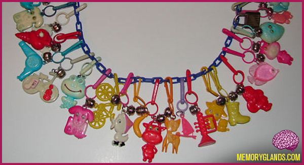 funny plastic charm necklace photo