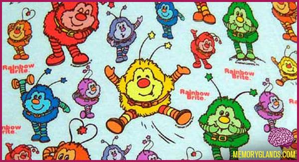 funny rainbow brite cartoon tv show photo