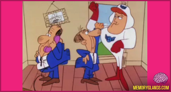 funny cartoon tv show roger ramjet photo