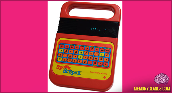 funny childrens toy speak and spell photo