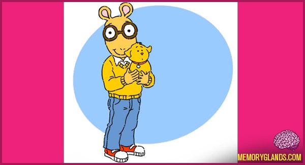funny cartoon tv show arthur photo