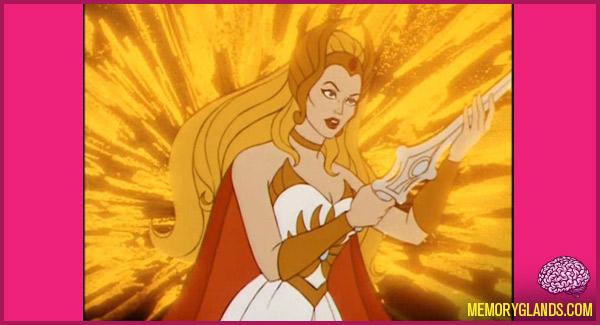 funny cartoon tv show She-Ra: Princess of Power photo