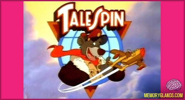 funny cartoon tv show talespin photo