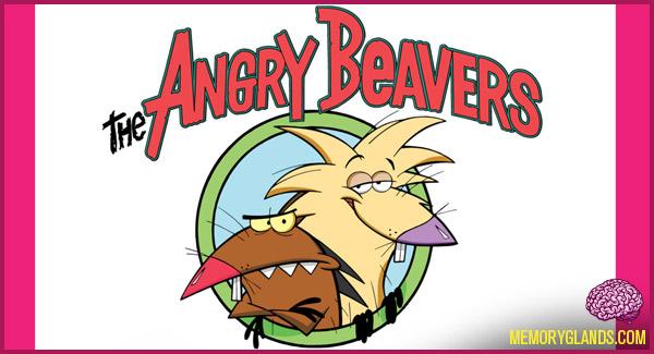funny nickelodeon cartoon tv show angry beavers photo