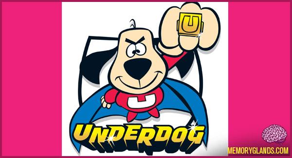 funny cartoon tv show underdog photo