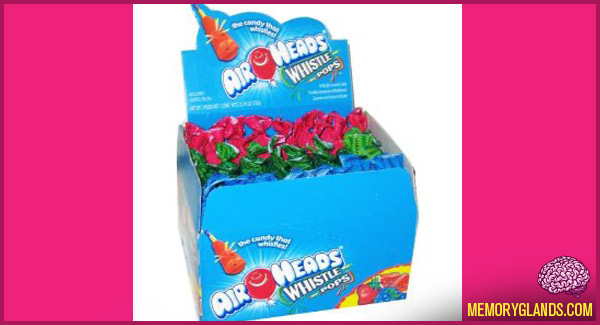 funny airhead whistle pops candy food photo