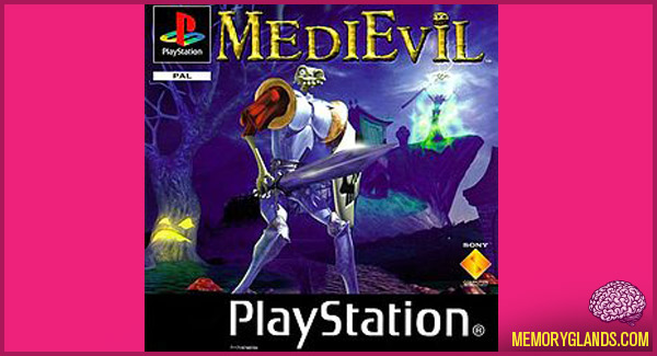 funny medievil video game playstation photo
