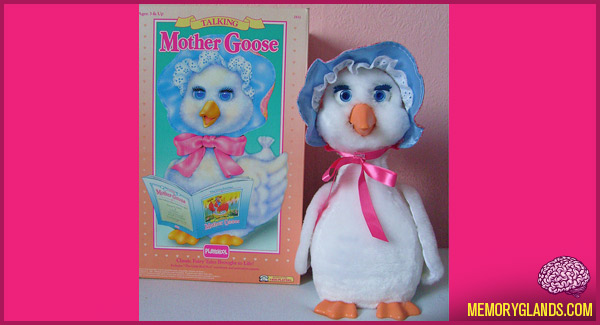 funny mother goose educational toy photo