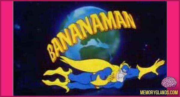 funny bananaman cartoon photo