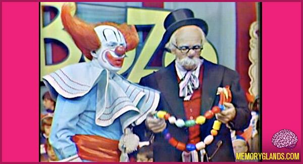 funny bozo the clown tv show photo