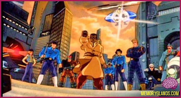 funny cops cartoon tv show photo