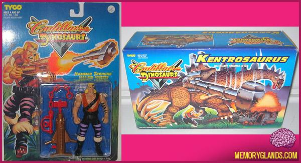 funny Cadillacs and dinosaurs toys photo