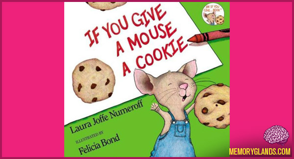 if you give a mouse a cookie craft if you give a mouse a cookie memory glands 8213